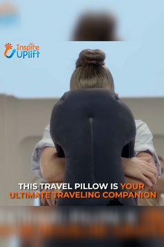 Sleepy Cloud Travel Pillow - ⭐⭐⭐⭐⭐ (5/5)  The Sleepy Cloud Travel Pillow is made using a buttery soft material for the ultimate in comfort. Its unique design provides a relaxing and restful, deep sleep while allowing you to travel comfortably in a natural forward position.  Currently 50% OFF with FREE Shipping! Travel Bags Carry On, Gadgets And Gizmos, Cool Gadgets, Practical Gifts, Simple Life Hacks, Things To Buy, Inventions, Adolescence, Travel Destinations