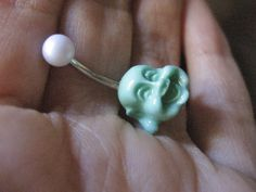 Laughing Buddha Belly Button Ring Jewelry Navel by Azeetadesigns