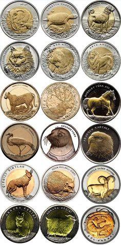 Turquía emite nuevas monedas bimetálicas de animales                                                                                                                                                                                 Más