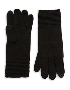 Echo Knit Touch Gloves Women's Black