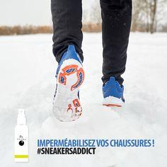 """40ce931a04e Pr. Phobe on Instagram  """"C est l hiver ! Pensez à protéger vos  sneakers.   )  PrPhobe  PrPhobeAddict  chaussures  baskets  impermeabilisant"""""""