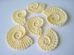 Crochet Sea Shells