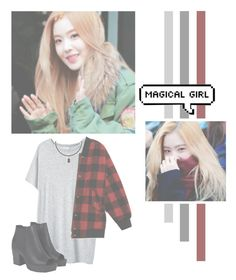 """""""Bae Joohyun"""" by lazy-alien ❤ liked on Polyvore featuring Organic by John Patrick, Boohoo, Irene, redvelvet and baejoohyun"""