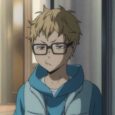 Tsukki's little frown gives me life