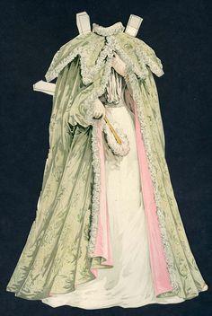 30 Cut Boston Sunday Herald Paper Doll Dress | eBay