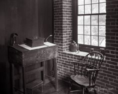 """""""Place of Business,""""  Limited Edition Original fine art photograph from a 4x5 B&W negative."""