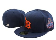 Detroit Tigers Hat - Stitched Snapback World Series 9Fifty