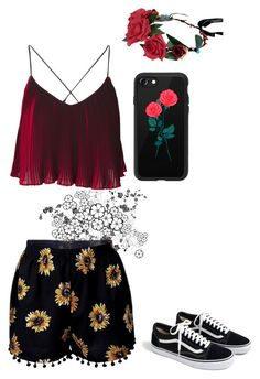 """""""Sunny Day"""" by lucyheartyui on Polyvore featuring moda, J.Crew, Casetify, outfit i sporty"""
