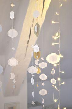 #DIY #Cloud #lights #garland