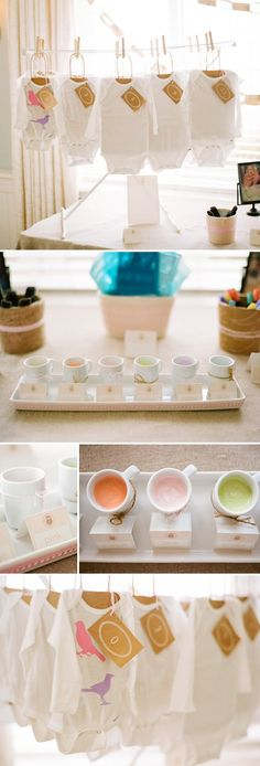Baby shower - Simple Sophisticated #baby #babyshower