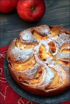 Dessert Recipes Easy Quick - New ideas Healthy Apple Cake, Moist Apple Cake, Easy Apple Cake, Fresh Apple Cake, Apple Cake Recipes, Easy Cake Recipes, Dessert Party, Thermomix Desserts, Vegan Dessert Recipes