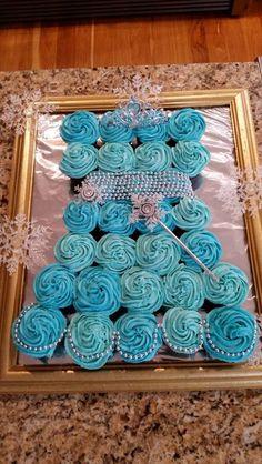 Frozen cupcake dress