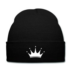 Crown Beanie - Available Here: http://sondersky.spreadshirt.com.au/crown-A18439150