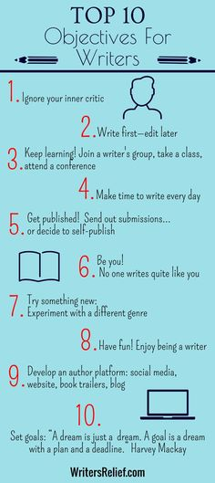 nice Top 10 Objectives For Writers                                                   ...