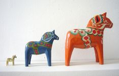 The Dalarna Horse (aka Dala Horse) is another symbol of Sweden.