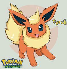 Pokemon - Pyroli by HikaruJen on DeviantArt