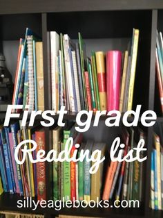 Silly Eagle Books: first grade reading list: books for first graders part 1