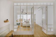 reforma piso antiguo puerta acristalada - Buscar con Google