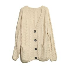 Vertical Plait Crochet Cream Cardigan ($79) ❤ liked on Polyvore featuring tops, cardigans, sweaters, outerwear, crochet cardigan, long sleeve cardigan, crochet knit cardigan, long sleeve tops and oversized chunky knit cardigan