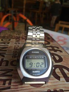 Casio Nerd Chic, Awesome Watches, Digital Watch, Casio Watch, Seiko, Vintage Watches, Citizen, Gears, Gadgets