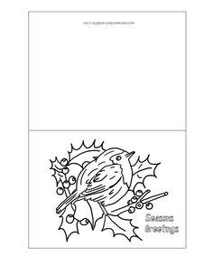 Free Printable Christmas Cards Christmas Birds