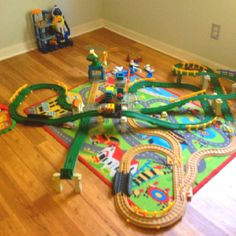 Geotrax for our 2-4 year old kiddos... maybe a Christmas present this year?!!