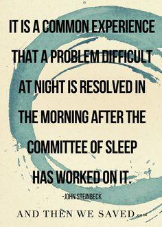 Sometimes at night m