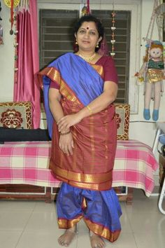 Madam you look so beautiful in Madisar Saree Readymade.  Please visit our website www.mamamami.in/shop If you need Madisar Saree and ready-made Madisar for both Iyer and Iyengar