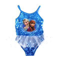 Amazon.com: Frozen Elsa Anna Olaf Girls Swimwear: Clothing