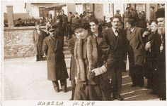 Visit Queen Frederica Edessa 1949. Επίσκεψη βασίλισσας Φρειδερίκης στην Έδεσσα 1949.