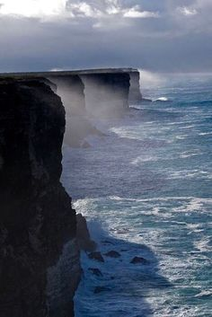 Bunda Cliffs, South Australia.                                                                                                                                                                                 More
