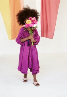 Bold colour from Tia Cibani for kids fashion summer 2017