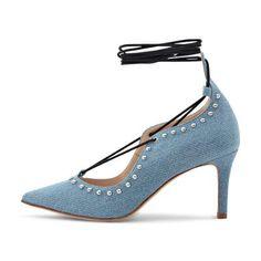 Pump Shops, Spring Summer 2016, Pump, Peep Toe, Light Blue, Heels, Collection, Fashion, Fashion Styles