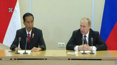 Putin & Widodo Hold Joint Press Conference