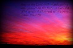 Psalm 147:7-8a