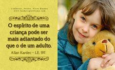 Citações em imagens: o Espírito de uma criança