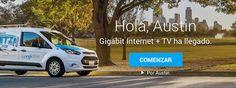 Google Fiber ya ha llegado a Austin, ofreciendo una conexión a Internet con velocidades de hasta 1000 Mbps