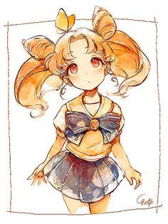 Sailor Moon Manga, Sailor Moon Fan Art, Sailor Moom, Sailor Uranus, Sailor Scouts, Studio Ghibli, Sailor Moon Kristall, Princesa Serenity, Moon Princess