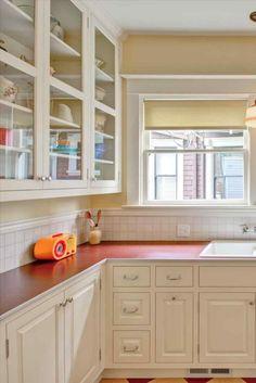 Neutral kitchen curtains amazon exclusive on homestre.com Kitchen Themes, Kitchen Sets, Kitchen Layout, Kitchen Living, Kitchen Decor, Free Kitchen Design, Best Kitchen Designs, Custom Desk, Timeless Kitchen