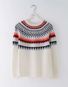 Modern Fair Isle Sweater Boden More