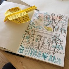 "Matt Johnson on Instagram: ""Doing a bit of garden sketching #crafternoon #gardensketch #sketchbook #gardendrawing"""