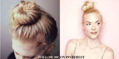 A cute ballerina bun is a fast and easy hairstyle that can make you look polished and chic without a lot of effort.