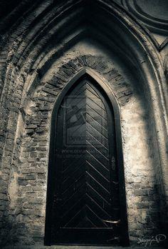 Gothic doors.  From http://noistromo.deviantart.com/art