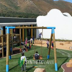 One company – Many solutions Synsport is proud to have been involved with the transformation of the Botha's Halte school in Worcester. This project showcases our ability to execute a full range of services. Synthetic Lawn, School Play, Play Areas, Save Water, Worcester, Baseball Field, Schools, South Africa, Fields