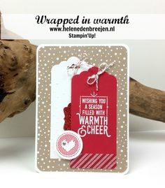 Stampin'Up! Wrapped in warmth, YouTube