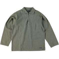 Armor Lux (French) Vereuse Port Manech Smock Jacket Orto Green