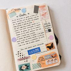 Caderno de recordações e memórias: como começar um (+ freebie para baixar) - A.Craft Bullet Journal Font, Bullet Journal Tracker, Bullet Journal Aesthetic, Bullet Journal School, Bullet Journal Ideas Pages, Bullet Journal Inspiration, Art Journal Pages, Art Journal Challenge, Bujo