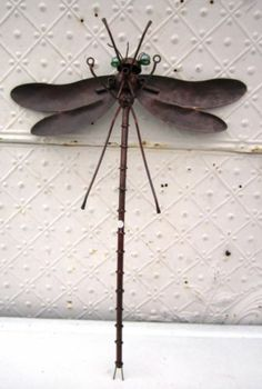Scrap metal dragonfly Welding Pinterest Metals and Scrap