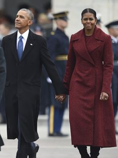 Michelle Obama Trump inauguration dress | Essence.com