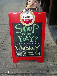 The liquid diet. | 33 Magnificent Ways To Entice Someone Into A Pub